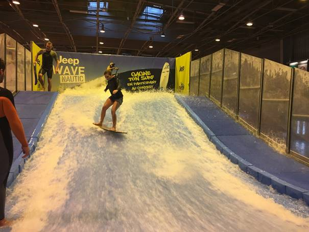 Surf indoor